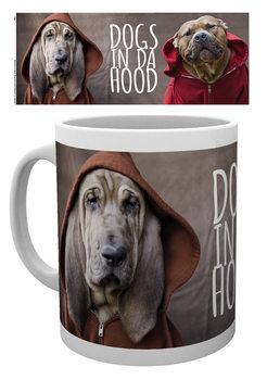 Dogs In Da Hood - Wrap Cană