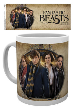 Fantastic Beasts And Where To Find Them - Group Frame Cană