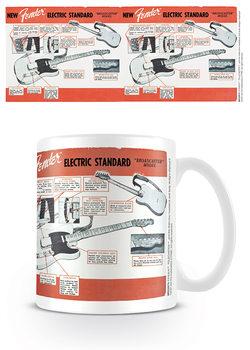 Fender - Electric Standard Cană