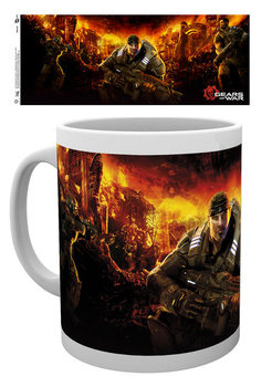 Gears Of War 4 - Keyart 4 Cană