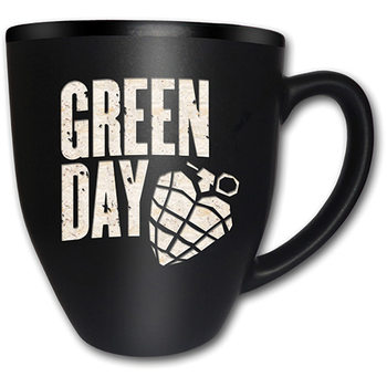 Green Day – American Idiot Matt Engraved Cană
