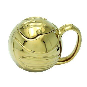 Cană Harry Potter - Golden Snitch