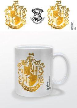 Harry Potter - Hufflepuff Stencil Crest Cană