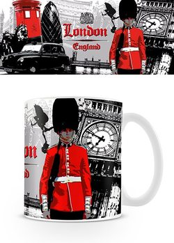 London - Guard Collage Cană