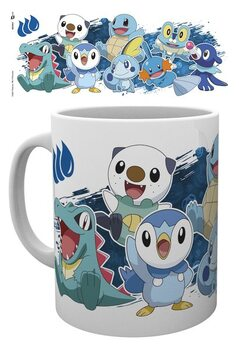Cană Pokemon - First Partners Water