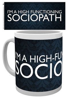 Sherlock - Sociopath Cană
