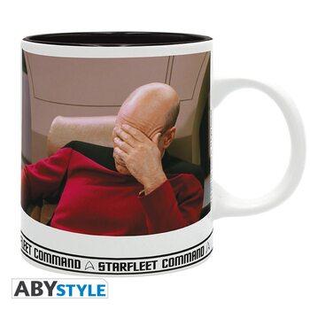 Star Trek - Facepalm Cană
