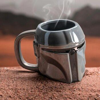 Cană Star Wars: The Mandalorian - Helmet