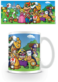 Super Mario - Characters Cană