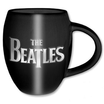 The Beatles – Drop T & Apple Oval Embossed Cană