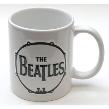 The Beatles - Drum & Apple Records Sculptured Cană