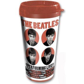 Cană pentru călătorie The Beatles - Perfoming Live