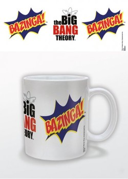 The Big Bang Theory - Bazinga Burst Cană
