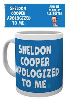 The Big Bang Theory - Sheldon Cooper Apologized Cană