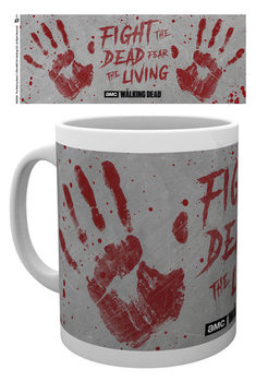 The Walking Dead - Hand Prints Cană