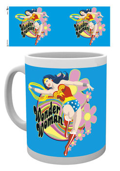 Wonder Woman - Flowers Cană