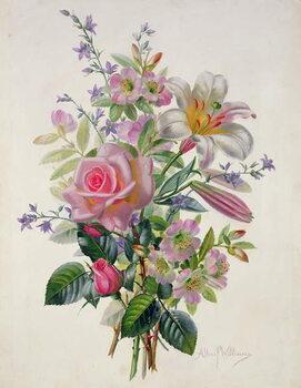 Canvas AB/211 A Pink Bouquet