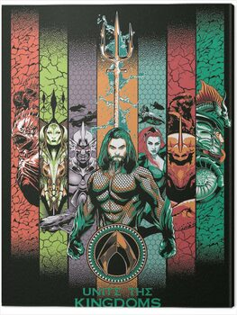 Canvas Aquaman - Unite the Kingdoms