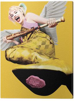 Obraz na plátne Birds Of Prey: Podivuhodná premena Harley Quinn - Harley Quinn Wings