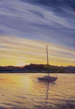 Obraz na plátne Boat at Rest, 2002
