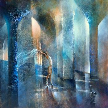 Obraz na plátne Cat and dancer