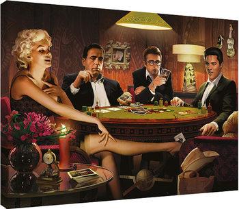 Obraz na plátne Chris Consani - Four Of A Kind