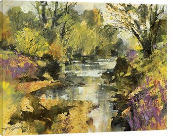Obraz na plátne Chris Forsey - Riverside in April