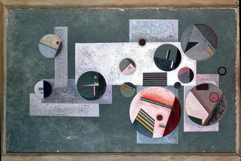 Closed Circles, 1933 Canvas