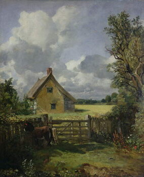 Canvas Cottage in a Cornfield