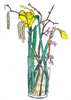 Canvas Daffodils