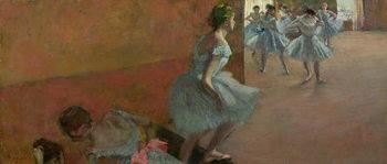 Dancers Ascending a Staircase, c.1886-88 Canvas