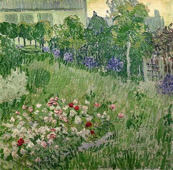 Canvas Daubigny's garden, 1890