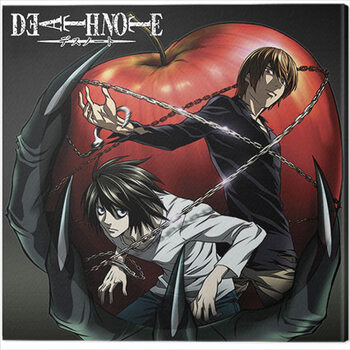 Canvas Death Note - Apple