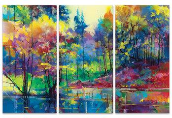 Doug Eaton - Meadowcliff Pond Canvas