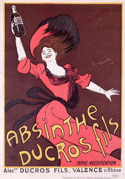 Obraz na plátne Advertisement for 'Absinthe Ducros fils', 1901