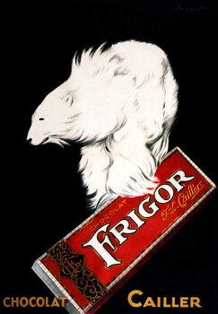 Canvas Frigor Chocolate Poster by Leonetto Cappiello