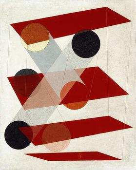 Obraz na plátne Galalite picture (Gz III), 1932
