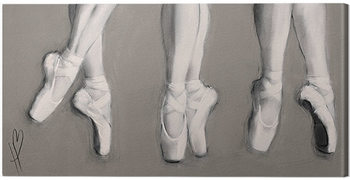 Hazel Bowman - Dancing Feet Canvas