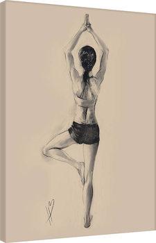 Obraz na plátne Hazel Bowman - Tree Pose