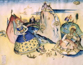 Obraz na plátne Imatra, 1917