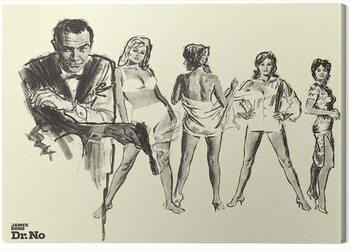 Canvas James Bond - Dr. No