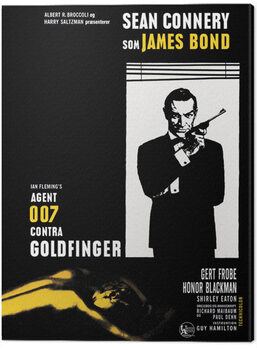 Canvas James Bond - Goldfinger - Window