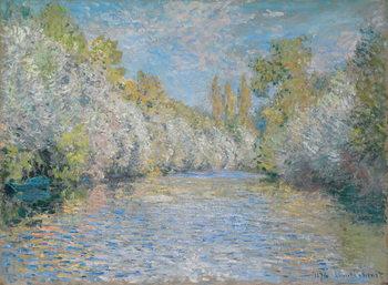 Canvas L'Yerres Near Montgeron; L'Yerres pres de Montgeron, 1876