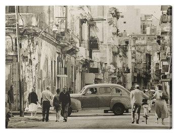 Canvas Lee Frost - Havana Street, Cuba