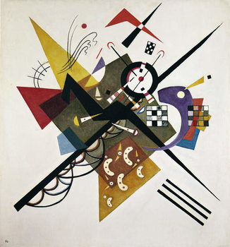 On White II, 1923 Canvas