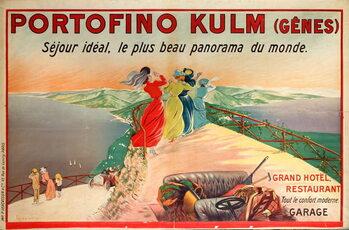Obraz na plátne Portofino Kulm Hotel