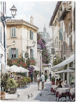 Canvas Richard Macneil - Café Stroll