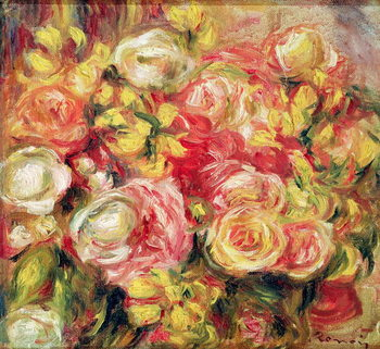 Canvas Roses, 1915