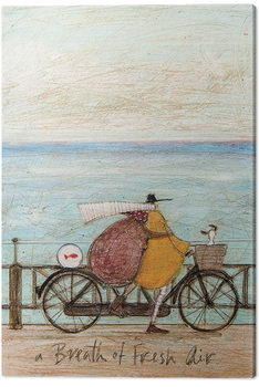 Canvas Sam Toft - A Breath of Fresh Air