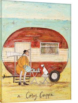 Sam Toft - A Cosy Cuppa Canvas